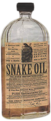 Snake Oil Drugs